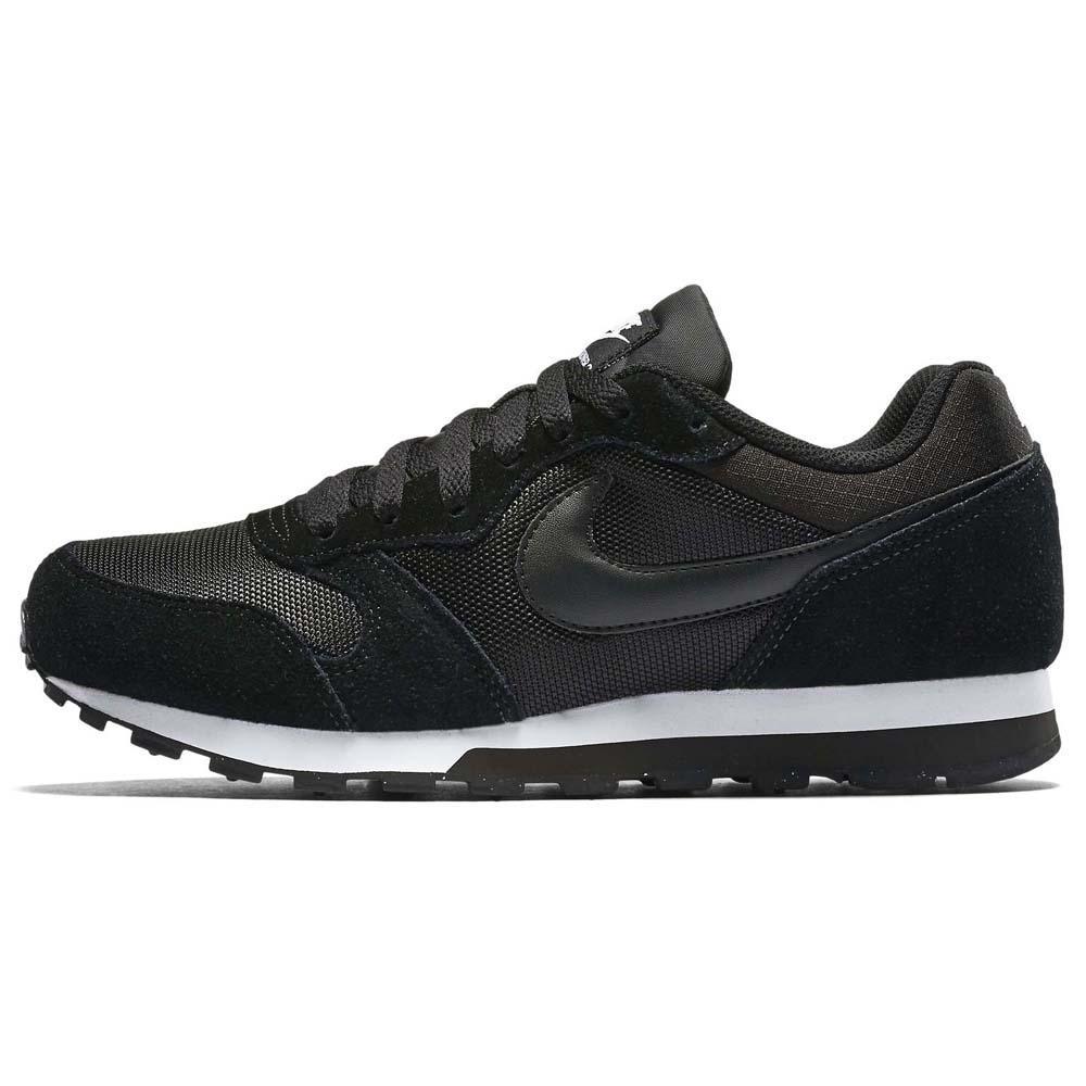 Detalles de Nike Md Runner 2 Negro T21504 Zapatillas Mujer Negro , Zapatillas Nike , moda