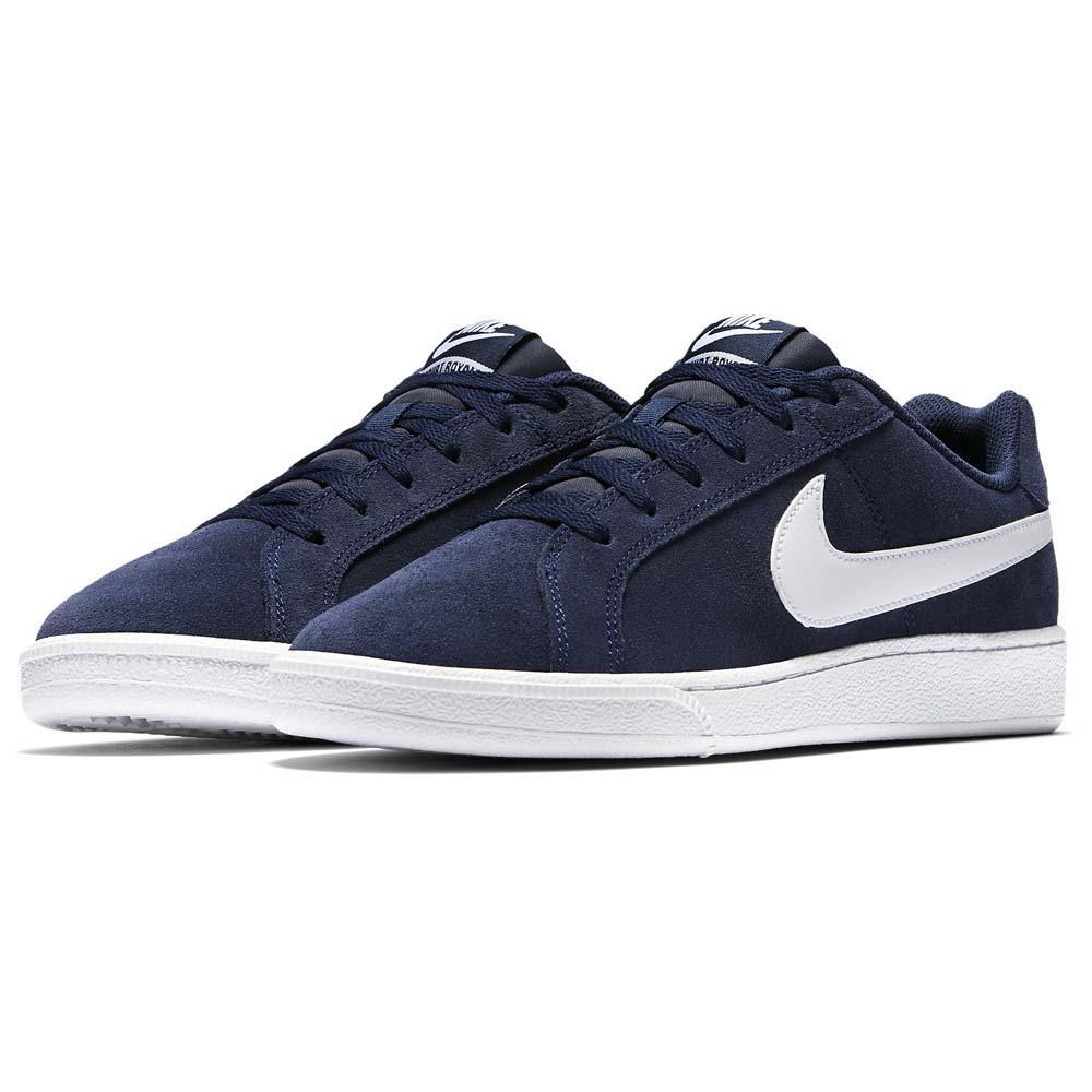 Nike-Court-Royale-Suede-Azul-T95581-Zapatillas-Azul-Zapatillas-Nike-moda miniatura 10