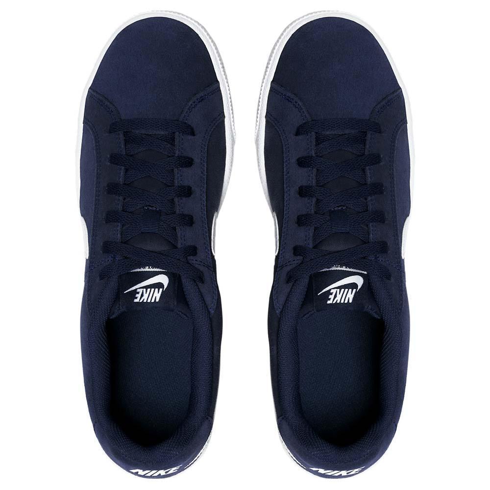 Nike-Court-Royale-Suede-Azul-T95581-Zapatillas-Azul-Zapatillas-Nike-moda miniatura 11