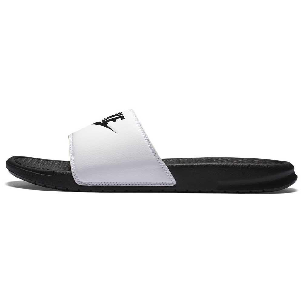 Nike Benassi Just Do It EU 41 White / Black
