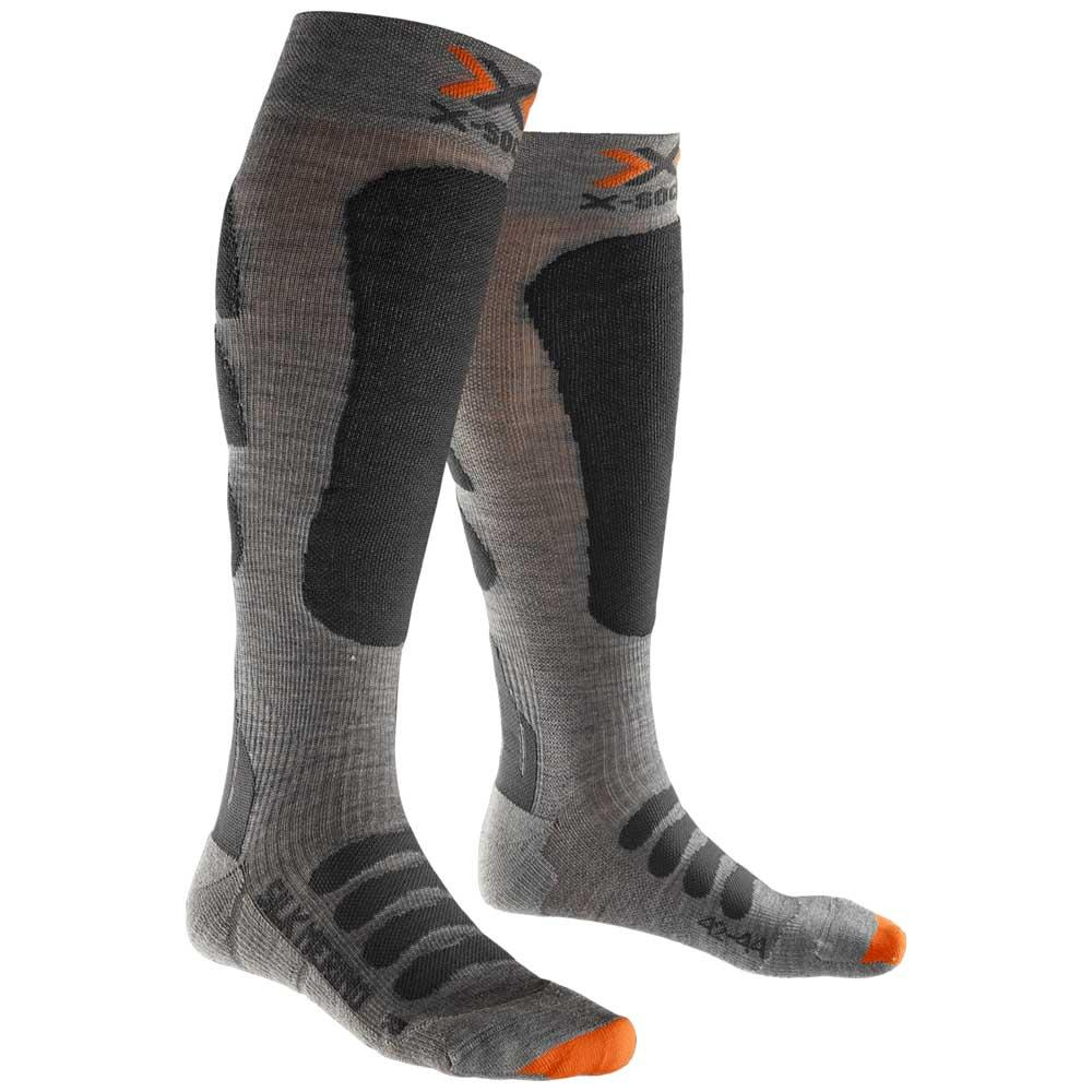 x-bionic-silk-merino-eu-35-38-grey-anthracite