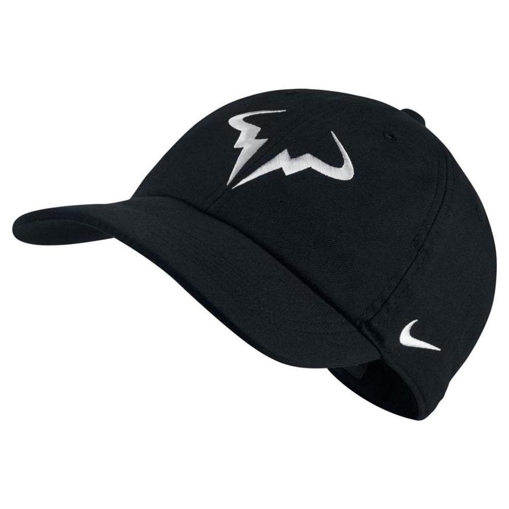 Nike Court Rafa Aerobill Heritage 86 One Size Black / White