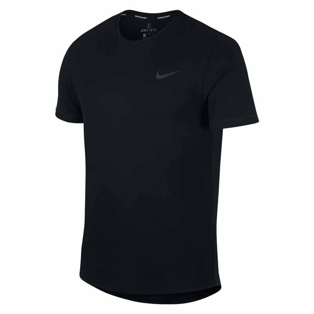 Nike Court Dri Fit Challenger Solid S Black / Black / Black