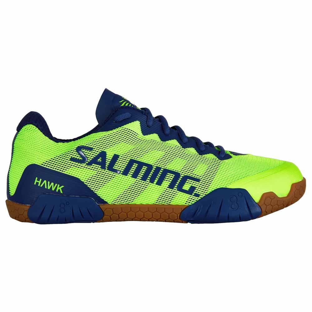 Salming Chaussures Hawk EU 58 Fluo Green / Limoges Blue