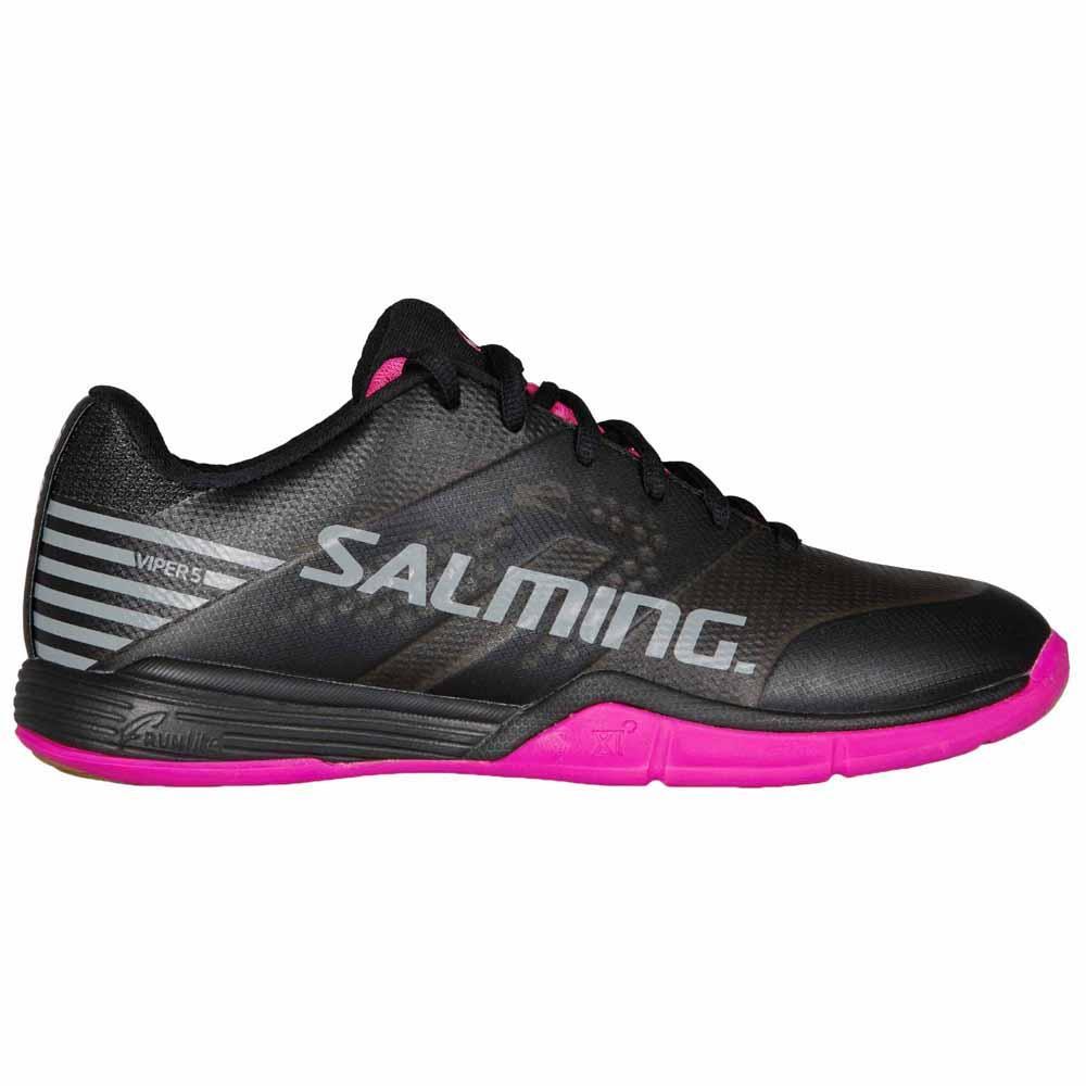 Salming Chaussures Viper 5 EU 40 Black / Pink Jewel