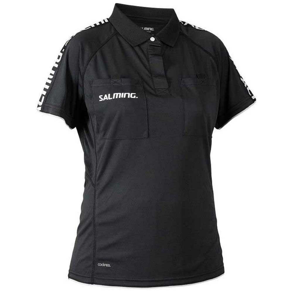 Salming Polo Manche Courte Referee XS Black