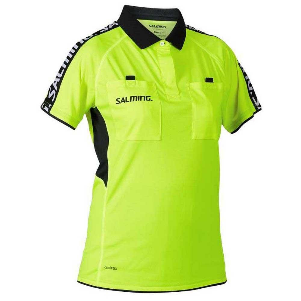 Salming Polo Manche Courte Referee XS Yellow