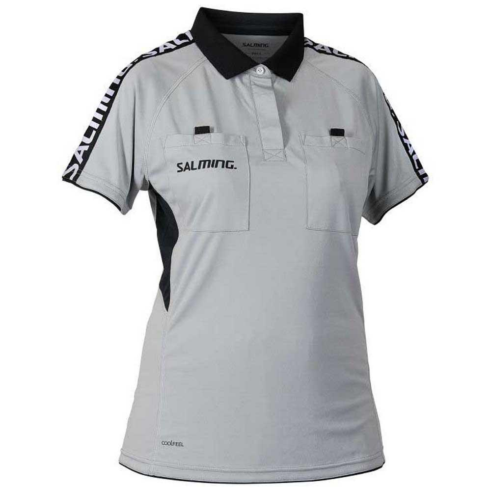 Salming Polo Manche Courte Referee XS Grey
