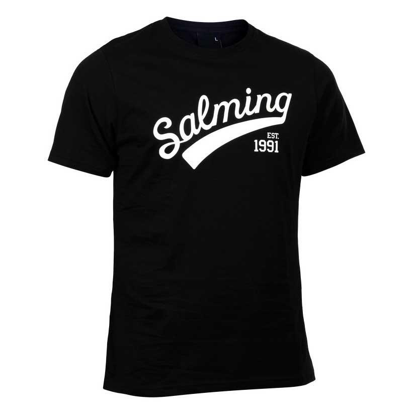 Salming Logo 8 Years Black