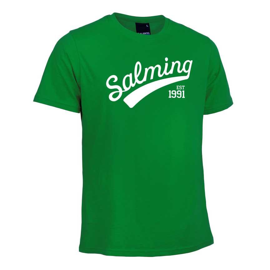 Salming Logo 10 Years Green