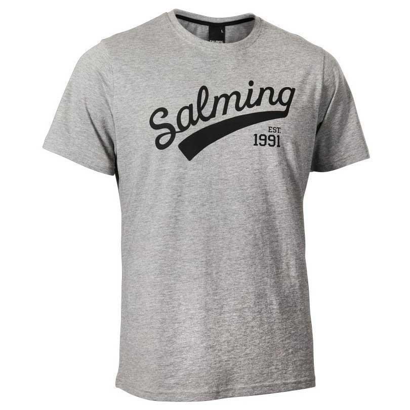 Salming Logo 8 Years Grey