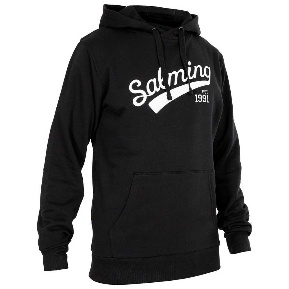 Salming Sweat À Capuche Logo S Black