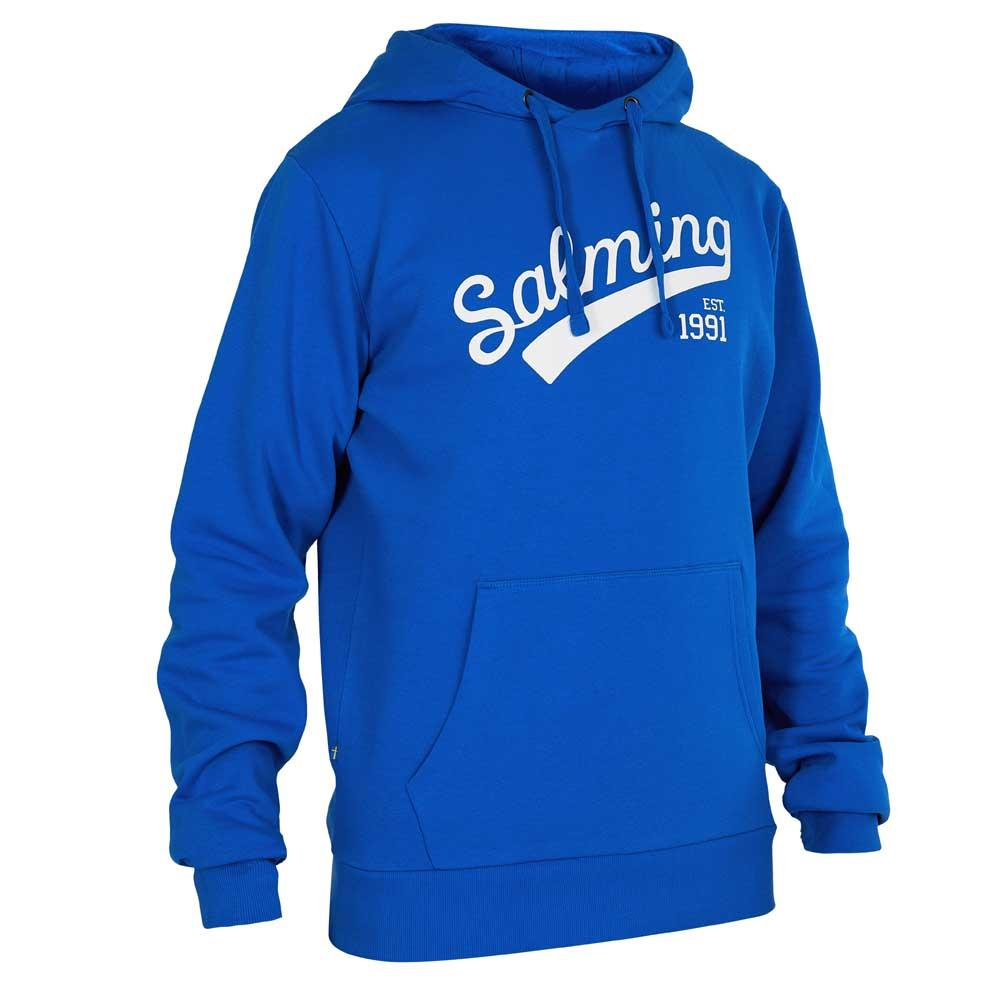 Salming Sweat À Capuche Logo S Royal Blue