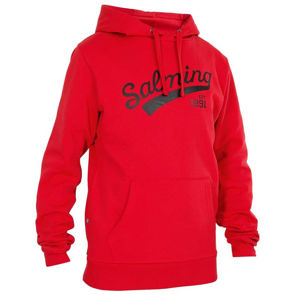 Salming Logo Hooded S Red
