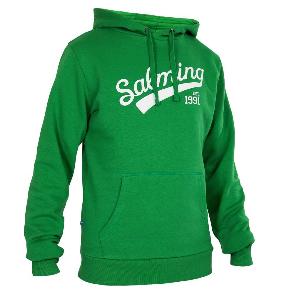 Salming Logo Hooded S Green