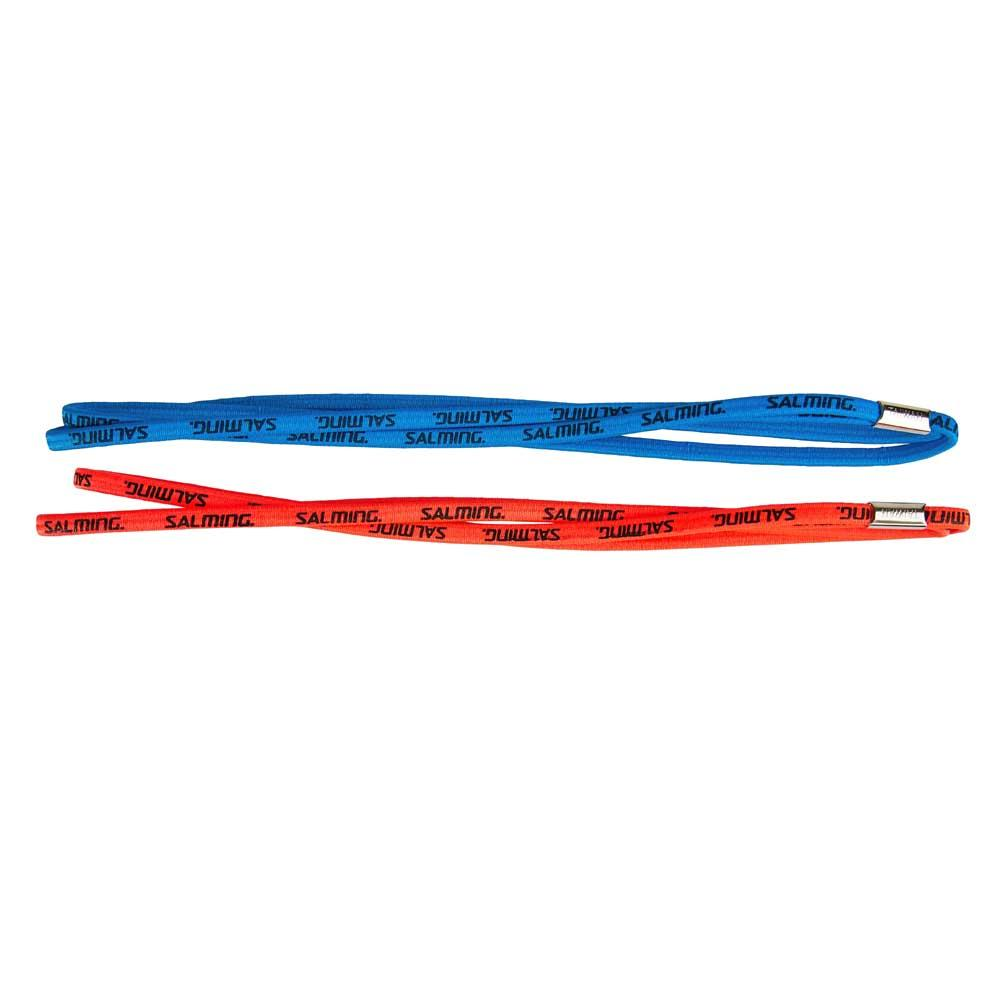 Salming Twin Hairband 2 Pack One Size Coral / Blue