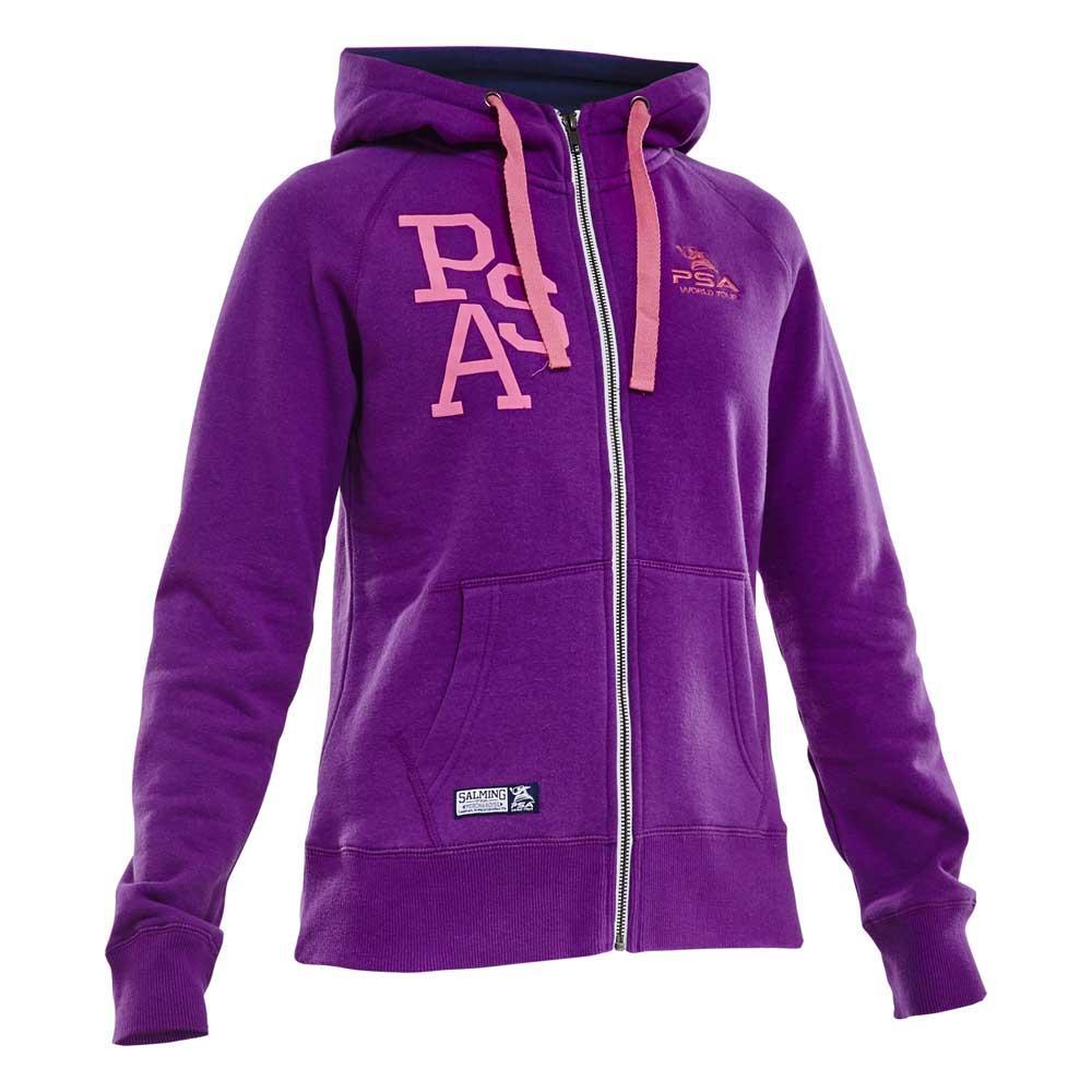 Salming Psa Hooded XS Purple Dahlia