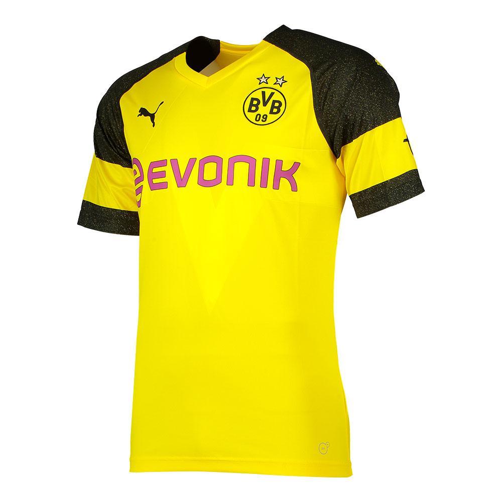 Puma Borussia Dortmund Home 18/19 L Yellow / Black