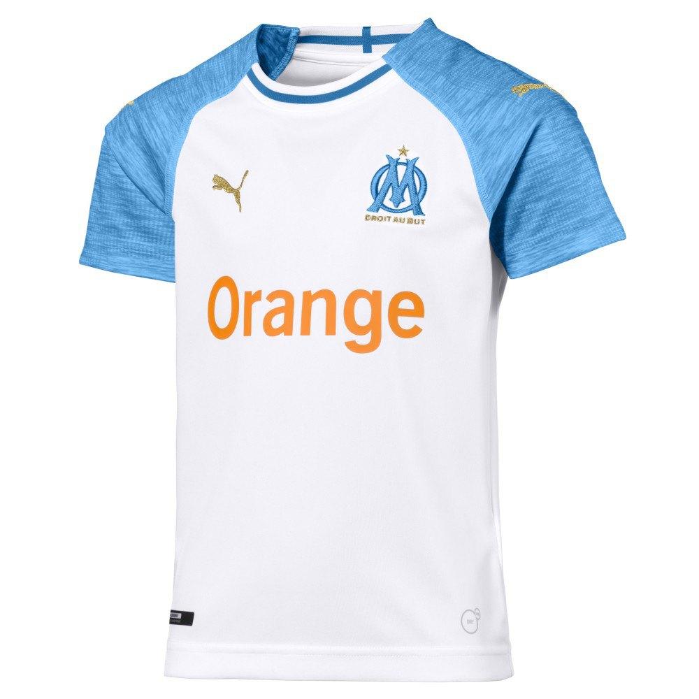 Puma Olympique Marseille Home 18/19 Junior 164 cm White / Blue