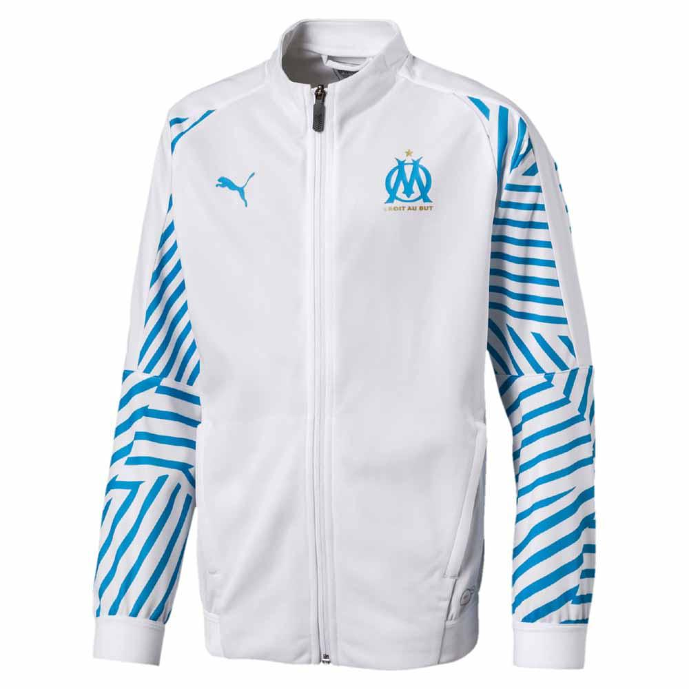 Puma Olympique Marseille Stadium 18/19 Junior 140 White / Blue