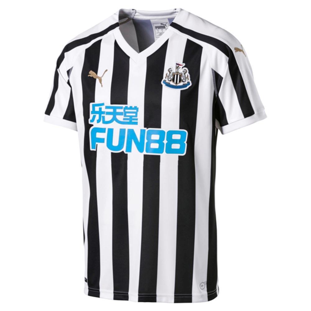 Puma Newcastle United Fc Home 18/19 S Black / White