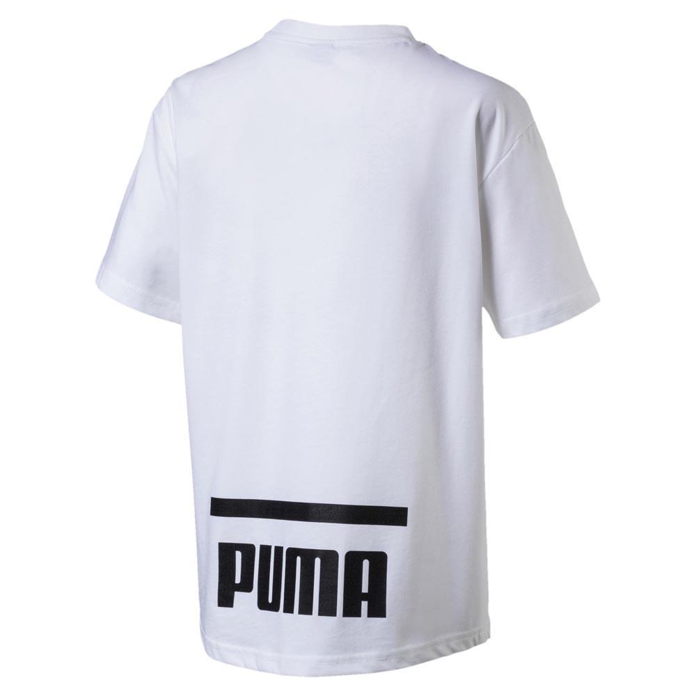 86db3196ed93 Puma-Pace-Graphic-White-T-Shirts-Puma-fashion-