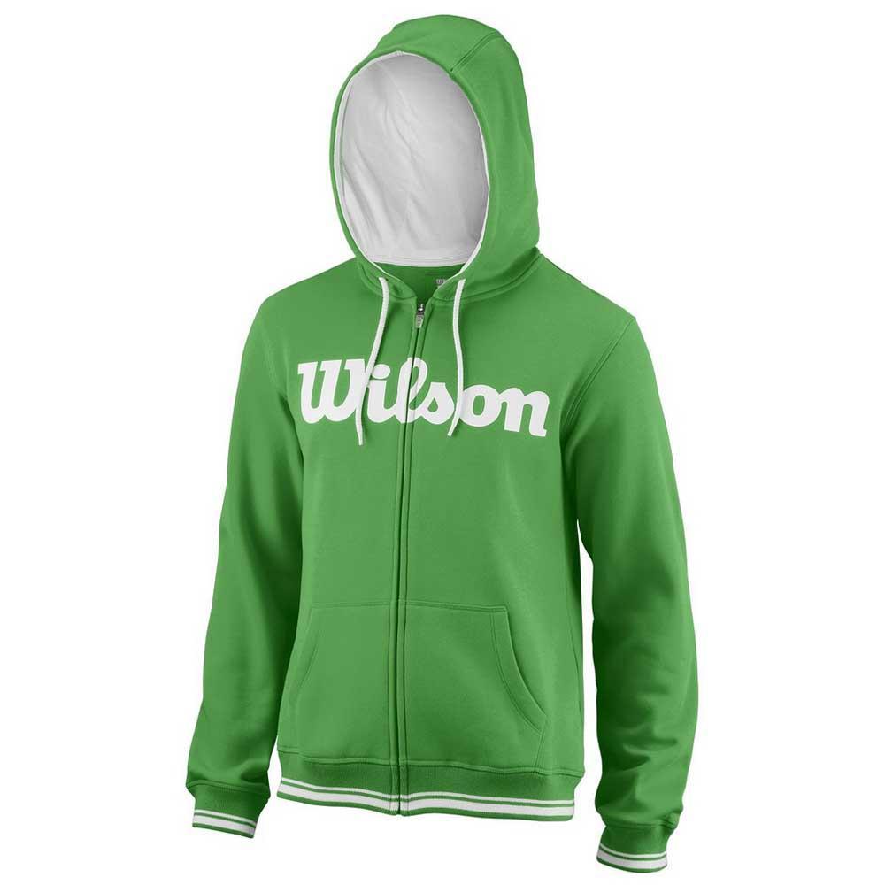 Wilson Team Script Full Zip Hooded S Andean Toucan / White