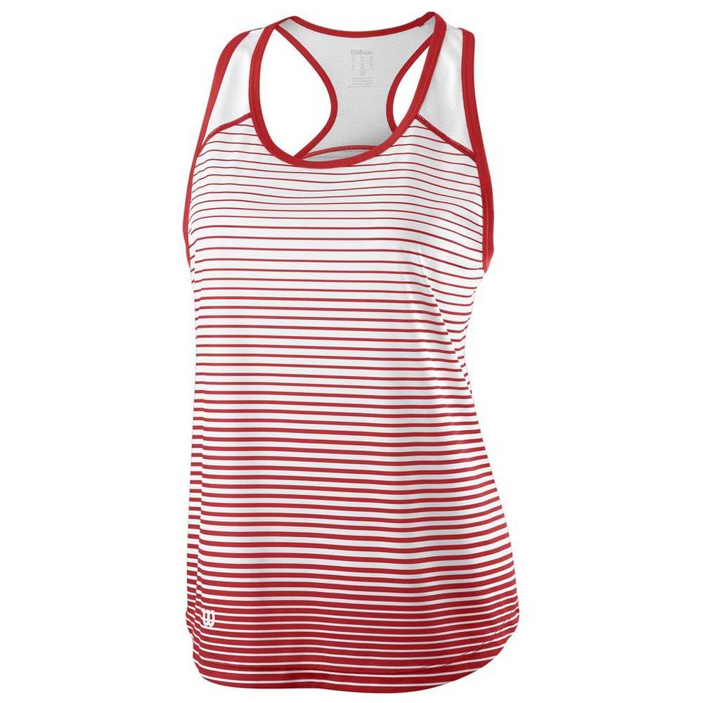 Wilson Team Striped XL Wilson Red / White