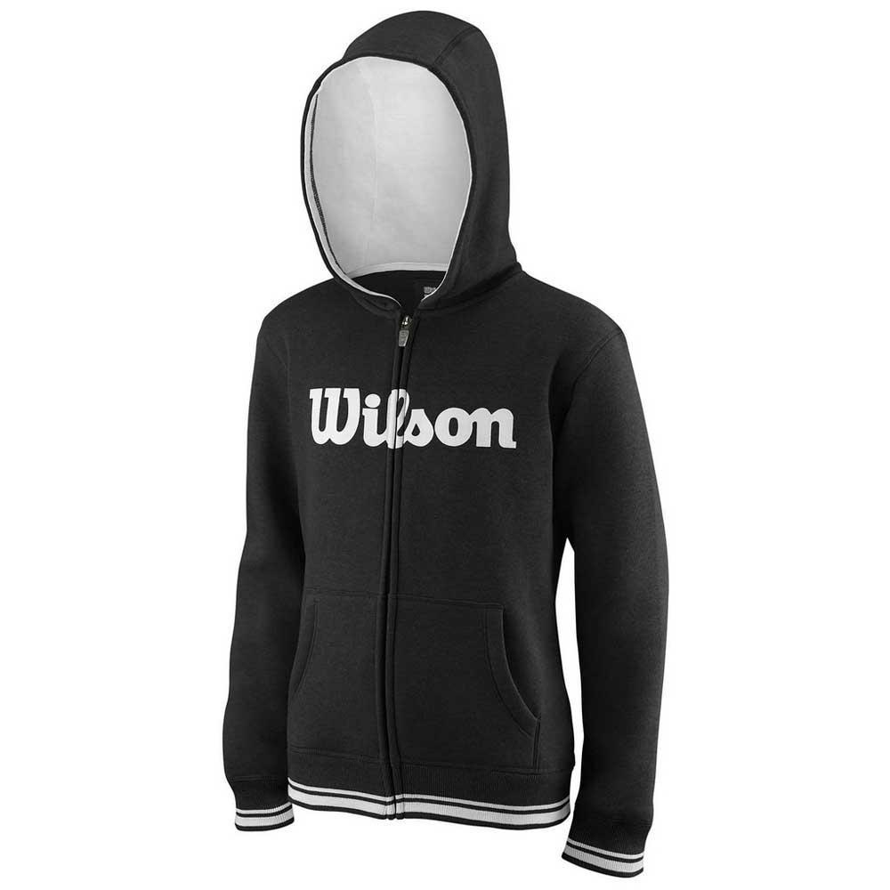 Wilson Team Script Full Zip Hooded XS Black / White