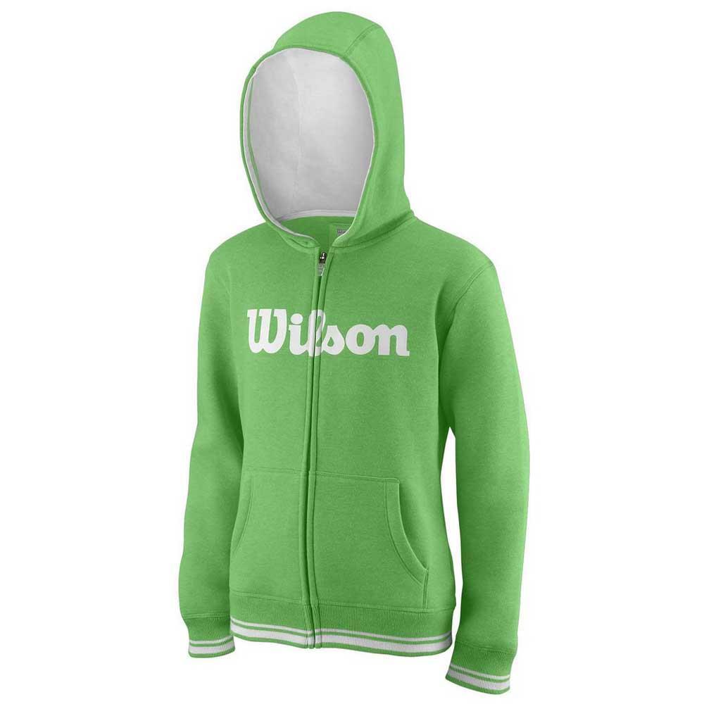 Wilson Team Script Full Zip Hooded M Andean Toucan / White