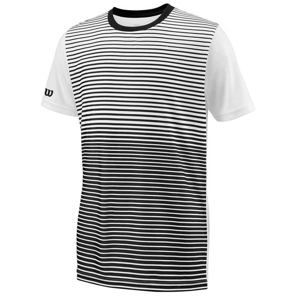 Wilson Team Striped Crew XS Black / White