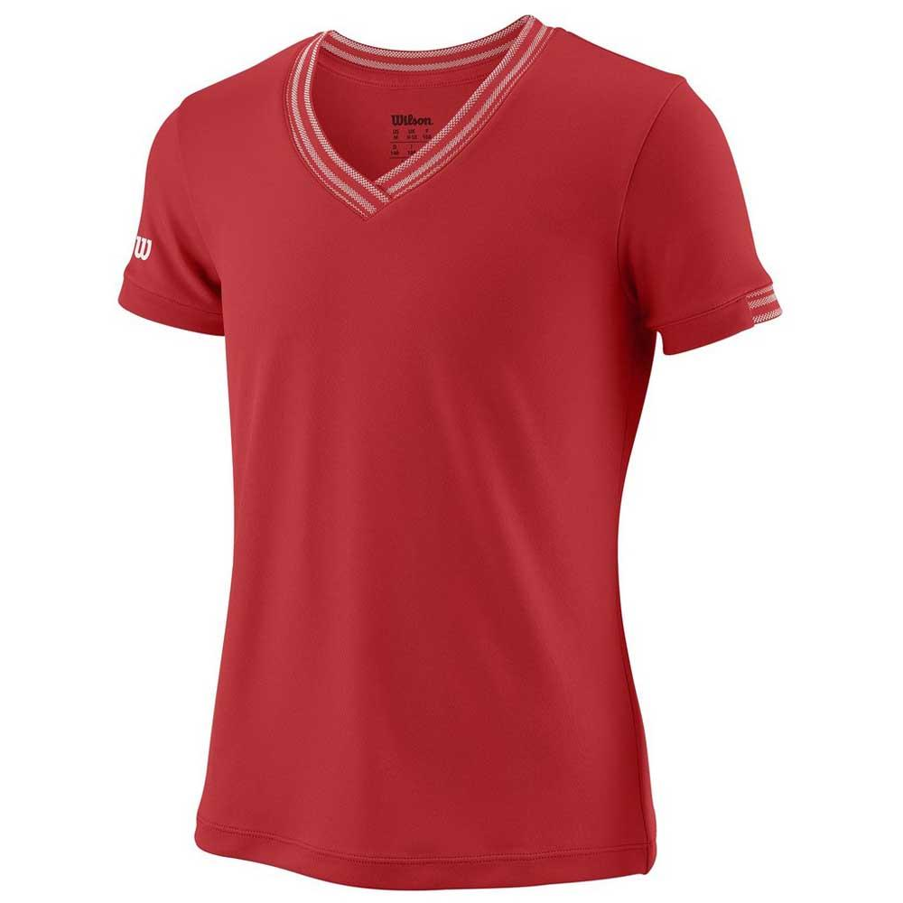 Wilson Team V Neck L Wilson Red