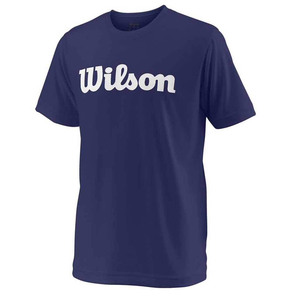 Wilson Team Script Tech S/s XL Blue Depths / White
