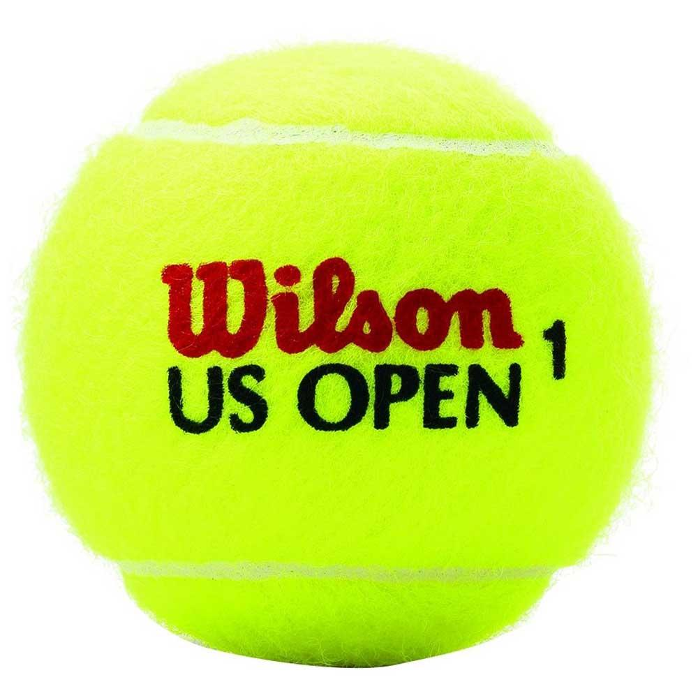 Wilson Us Open Regular Duty 3 Balls Yellow