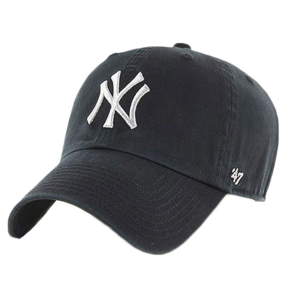 47 New York Yankees Metallic Clean Up One Size Black / White