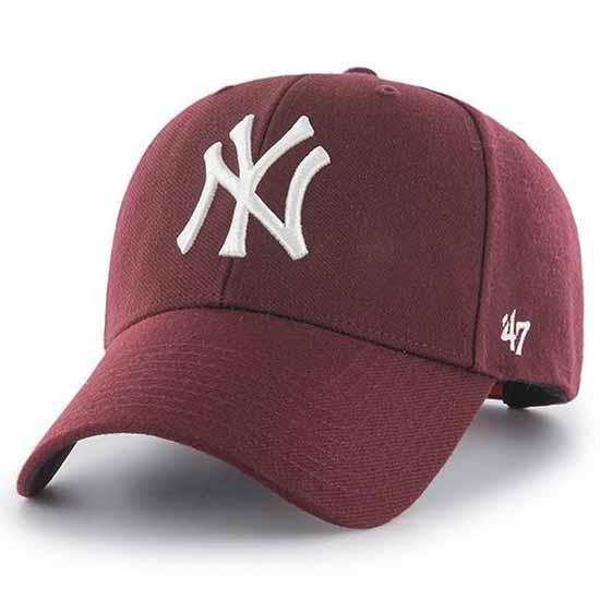47 New York Yankees Snapback One Size Dark Maroon