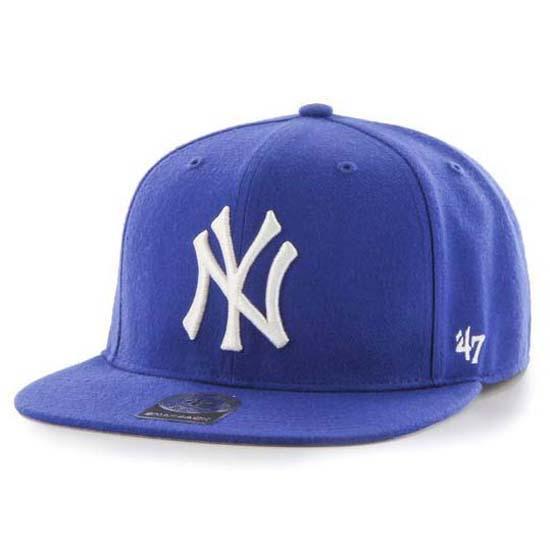 47 New Yankees No Shot Captain One Size Youth / Royal