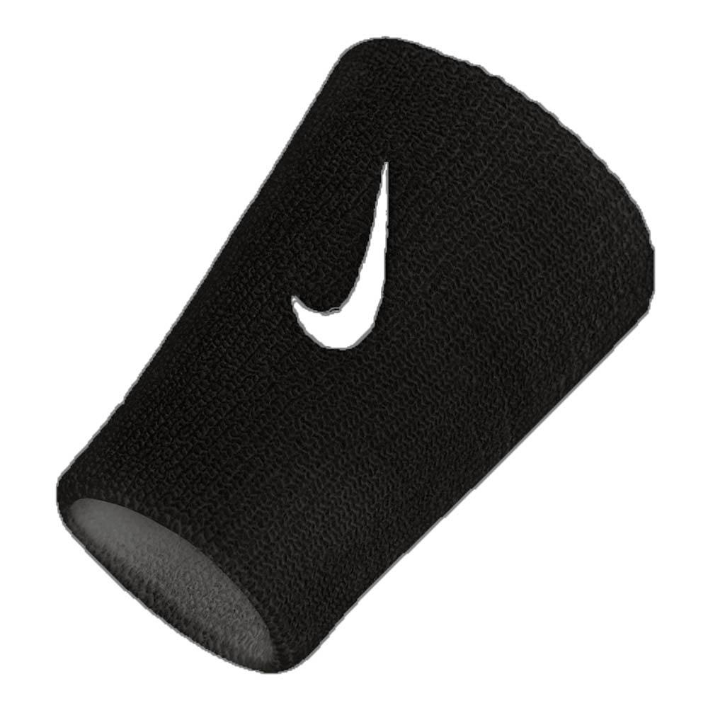 Nike Accessories Premier Double Wide Wristbands One Size Black