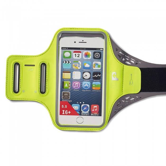 Ultimate Performance Ridgeway Phone Holder Armband One Size Yellow Fluo