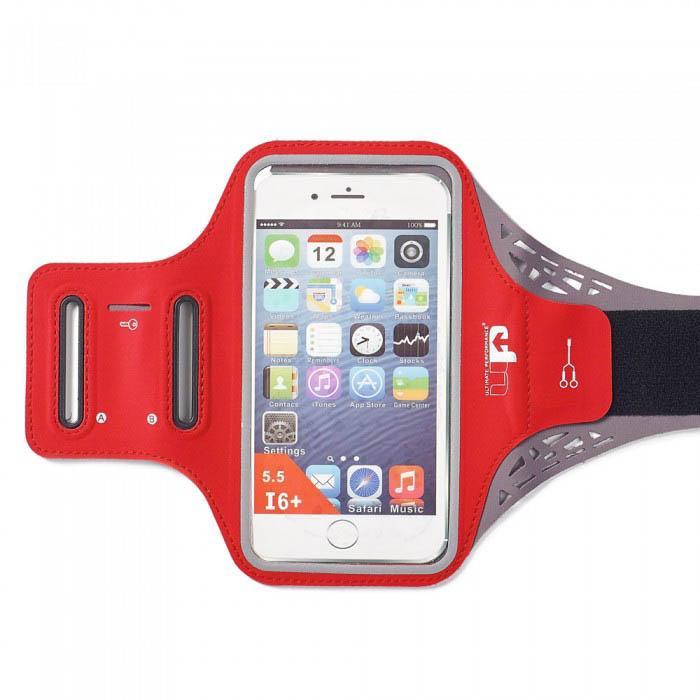 Ultimate Performance Ridgeway Phone Holder Armband One Size Red