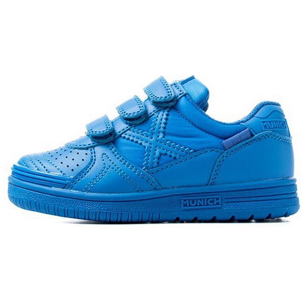 Munich Chaussures G3 Monochrome Velcro EU 26 Blue