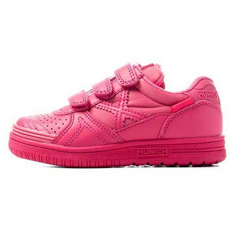 Munich Chaussures G3 Monochrome Velcro EU 26 Pink