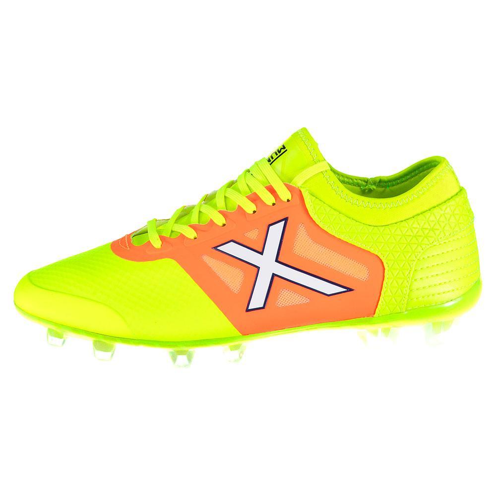 Munich Tiga Ag Football Boots EU 39 Green / Orange / White