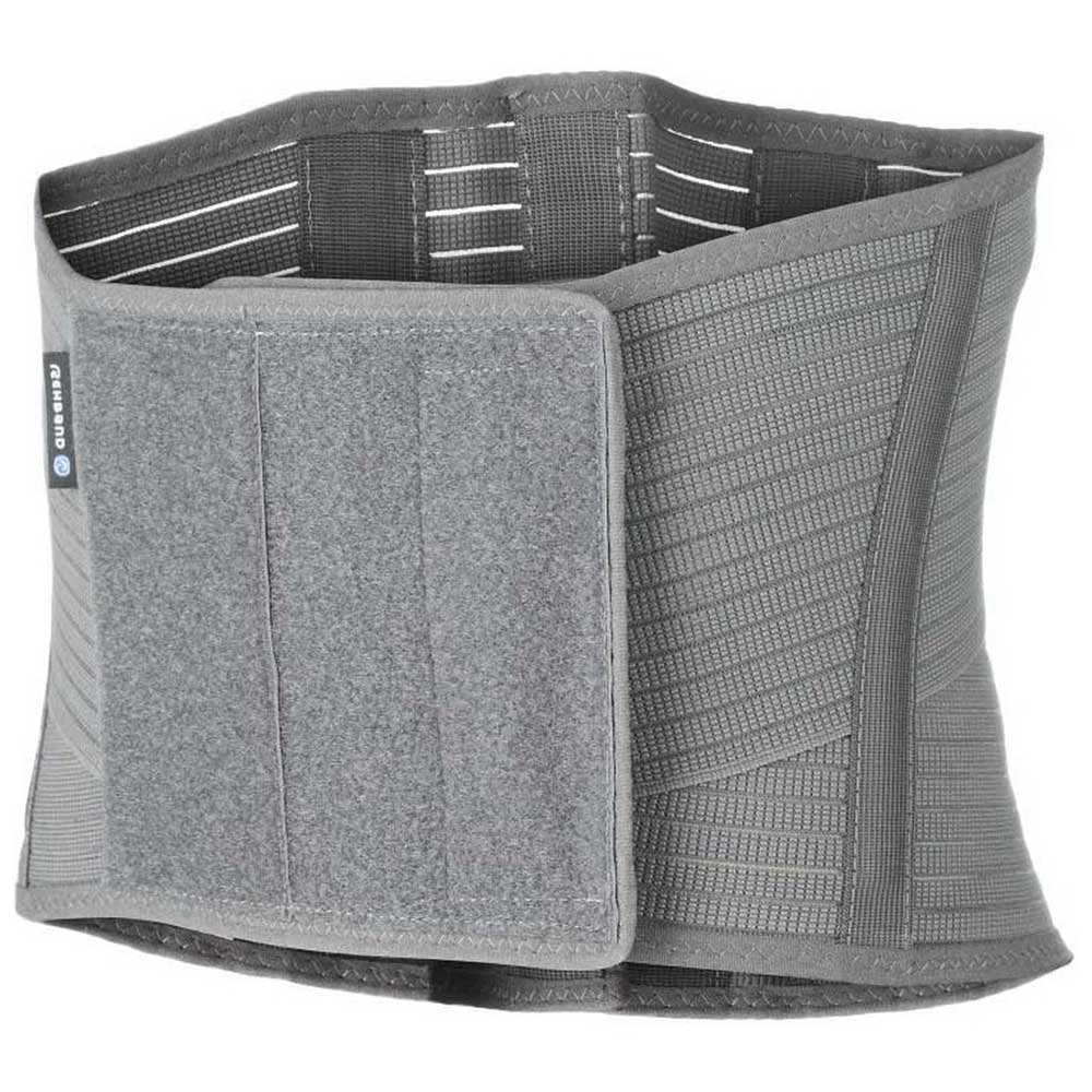 Rehband Qd Knitted Back Support S-M Grey