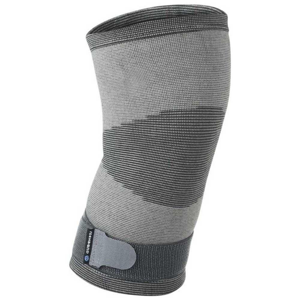 Rehband Qd Knitted Knee Sleeve M Grey