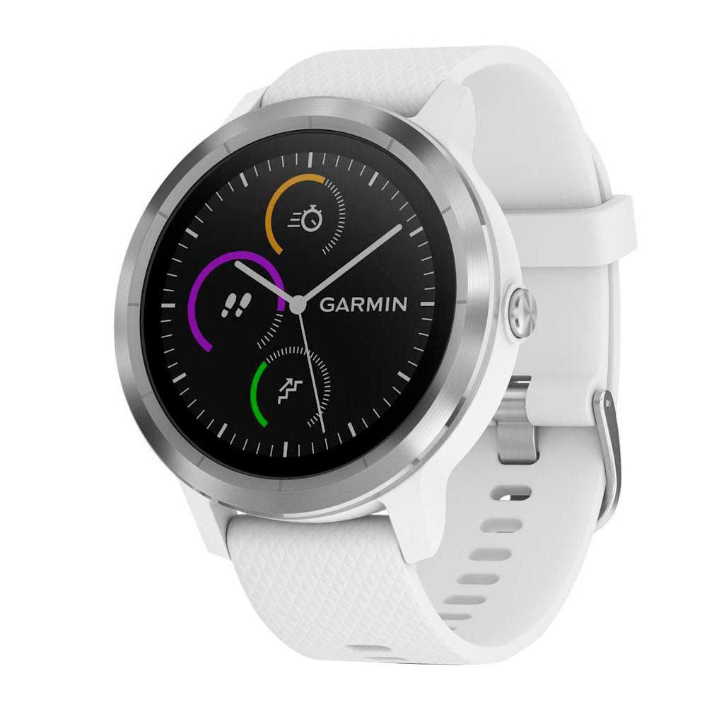 Garmin Vivoactive 3 One Size Silver / White
