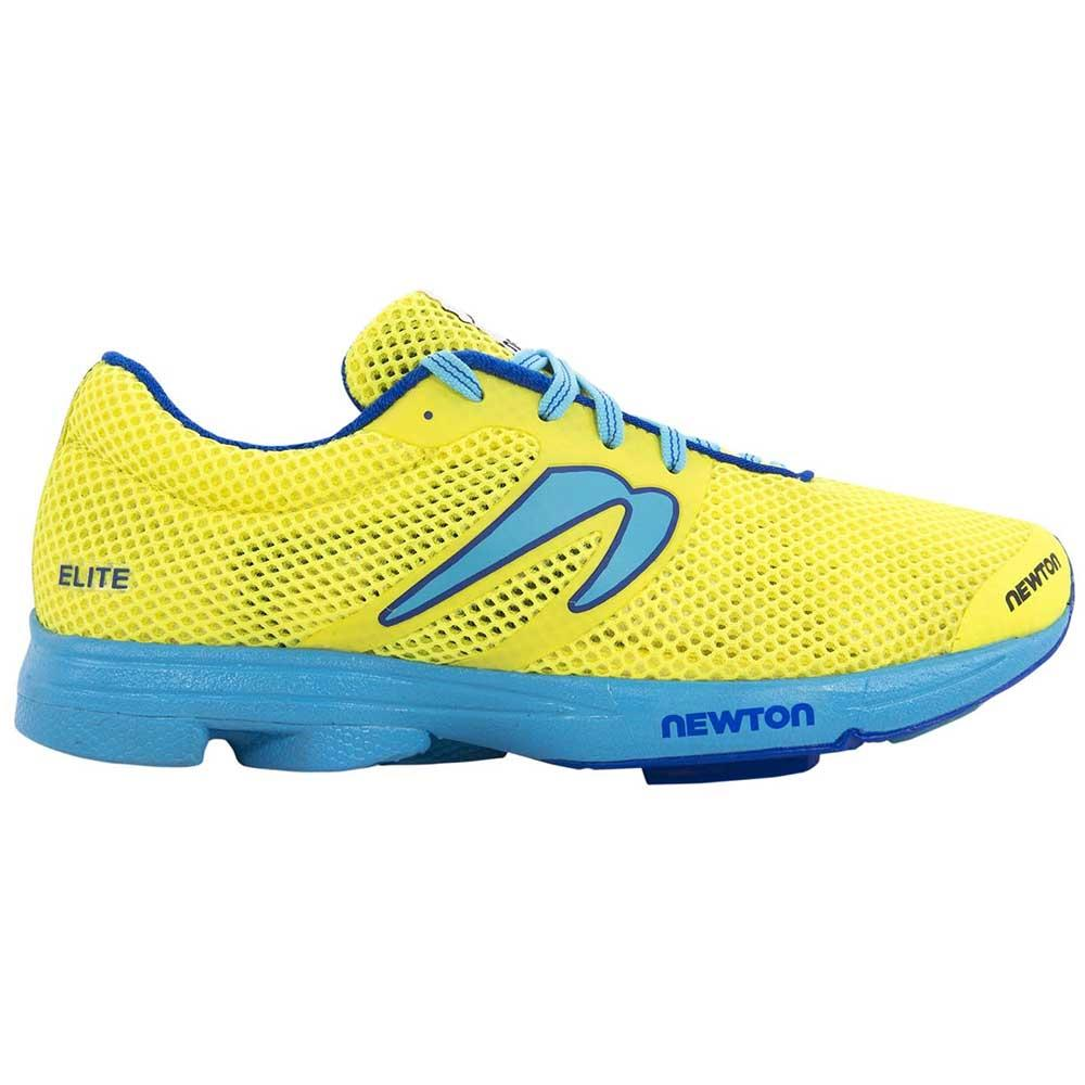 Newton Distance Elite EU 36 Neon Yellow / Blue