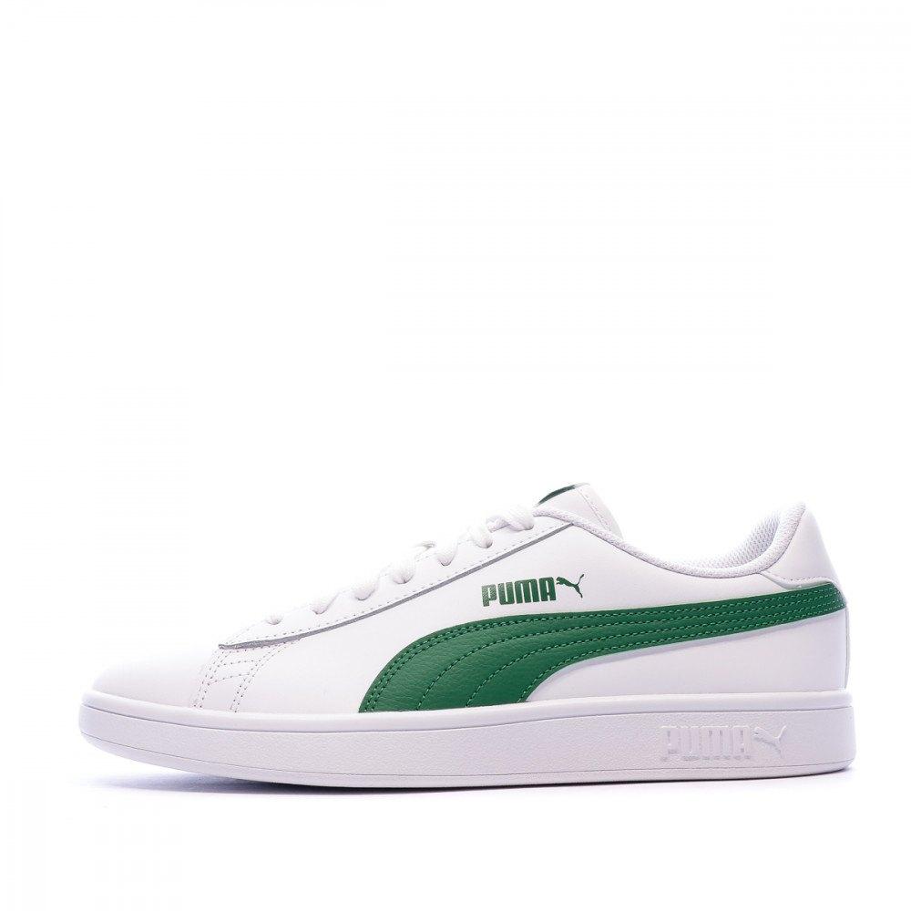Puma Smash V2 L EU 47 Puma White / Amazon Green