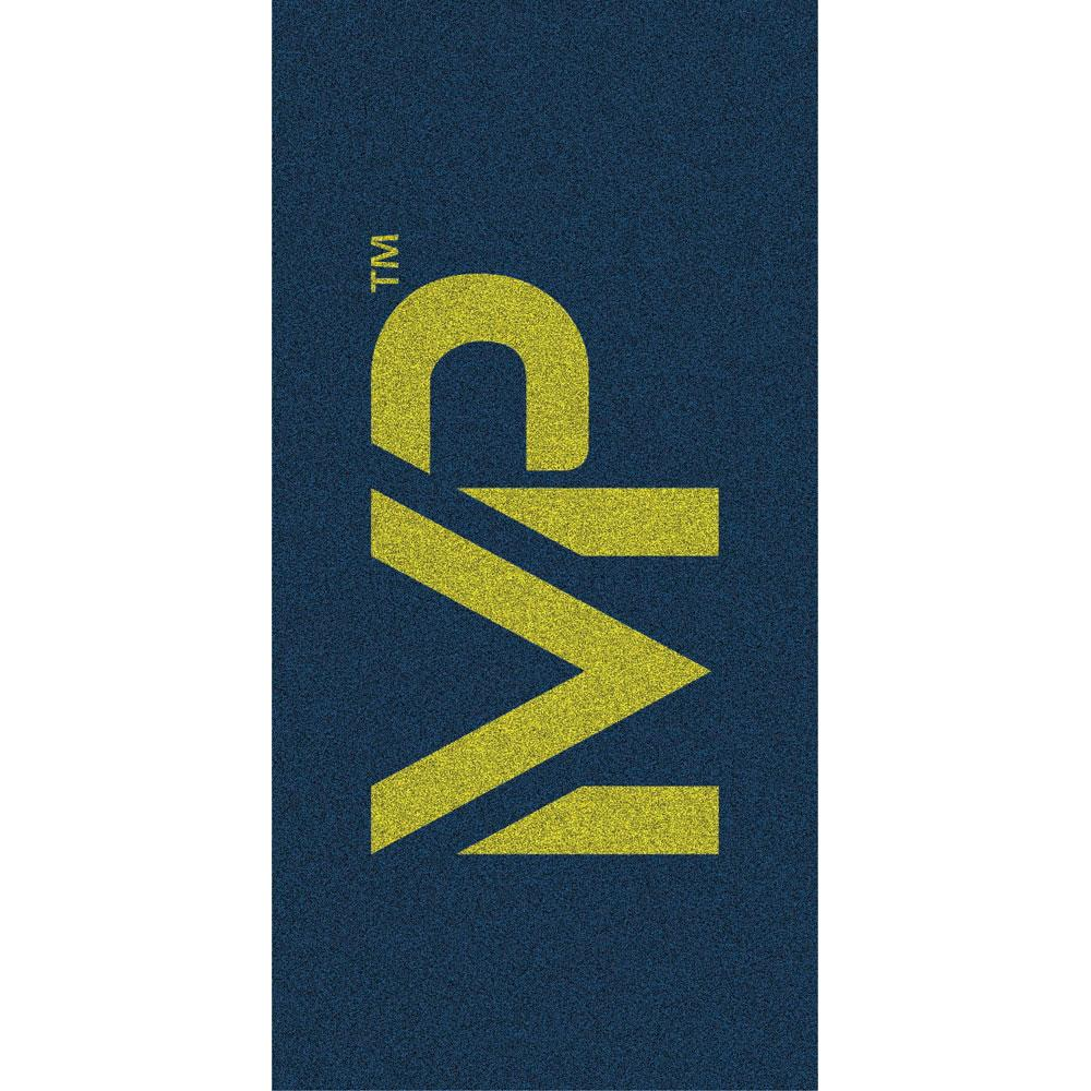 Michael Phelps Towel Navy Yellow / Yellow Navy , SERVIETTES Michael phelps , natation 864254
