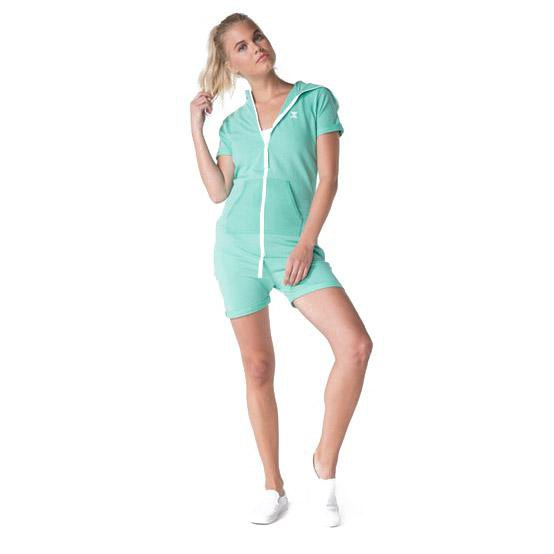 Onepiece Fitted Short L Turquoise